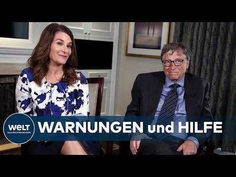 Wie Bill und Melinda Gates gegen Corona kämpfen wollen