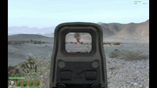 Arma 2 British Armed Forces - Tank Hunters - Gameplay