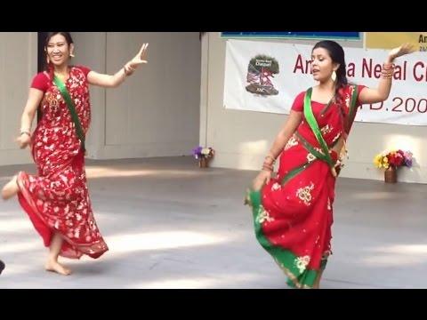 Teej Stage Dance in the USA, Song Malai Kasti Dekhinchha by Reshma Sunuwar [Full HD] thumbnail