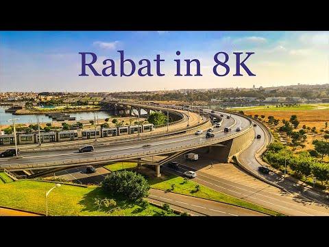 RABAT MOROCCO in 8K الرباط عاصمة الانوار بجودة 8K