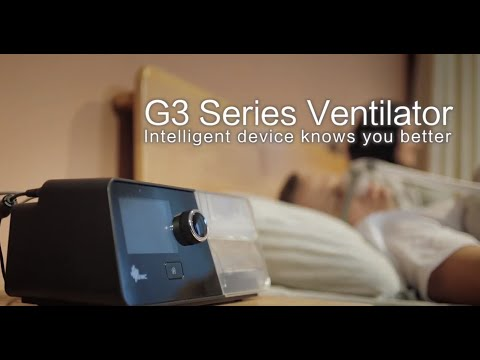 BMC G3 CPAP/APAP Machine With Humidifier And Integrated Heated Tubing