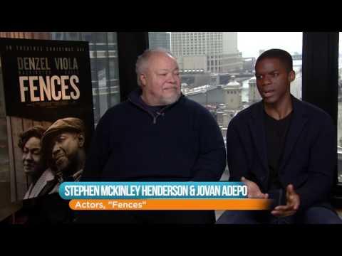 Stephen McKinley Henderson and Jovan Adepo On 'Fences'