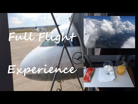 FLIGHT-REPORT | Hannover (HAJ) to Munich (MUC) | Lufthansa A320 | Awesome cloud surfing