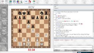 Шахматы. Анализ партий. Итальянская партия (Олеся черными). Урок 07 (часть 1)
