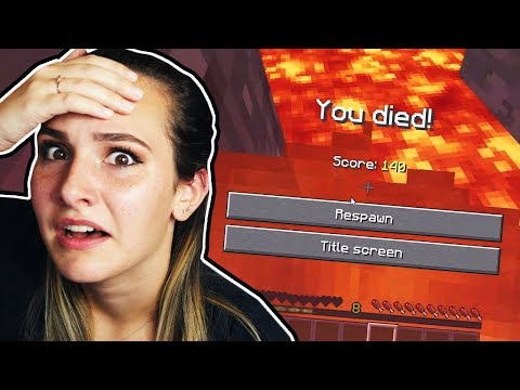PLAYING MINECRAFT WITH MY GIRLFRIEND!