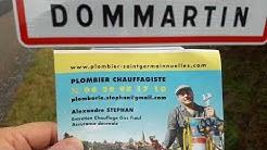DOMMARTIN 69380 #PLOMBIER Tel 0620981710 #CHAUFFAGISTE / #RAMONEUR