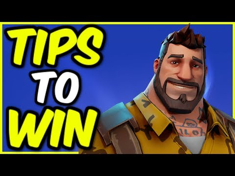5 Tips to Guarantee Victory in Fortnite Battle Royale! More Wins!