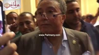 بالفيديو.. أكمل قرطام يعلن استقالته من مجلس النواب