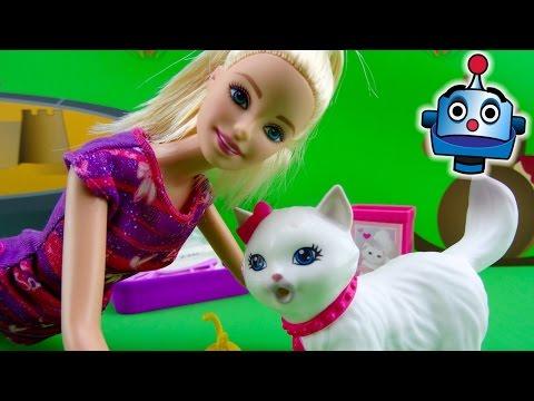 Barbie y su Gatita pis pis