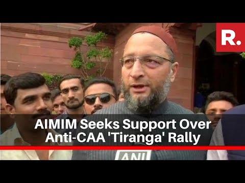 AIMIM Seeks Support