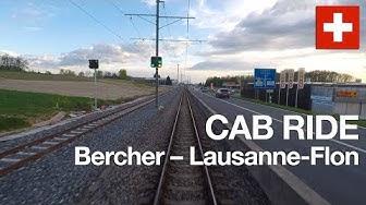 [VOYAGE EN CABINE] Bercher – Lausanne-Flon (Suisse), avril 2019