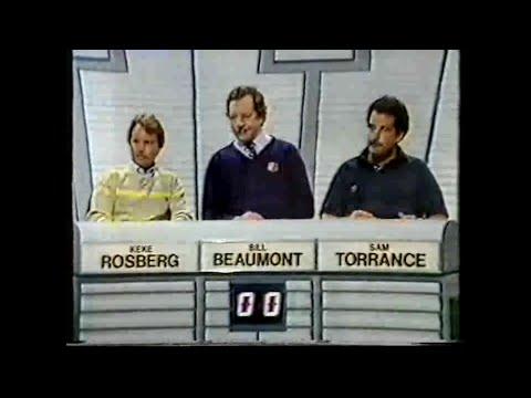 Keke Rosberg -  BBC TV - A Question Of Sport (1982)