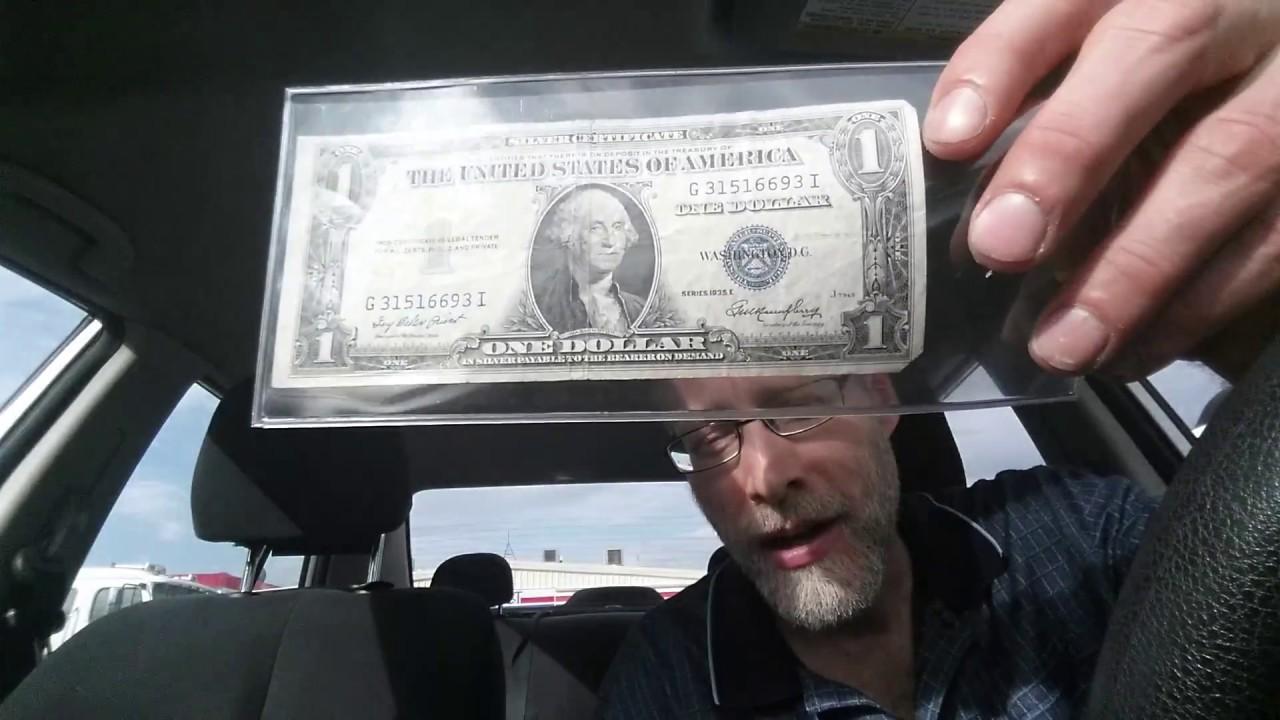 Series 1935 E Silver Certificate In Comparison To A Federal Reserve