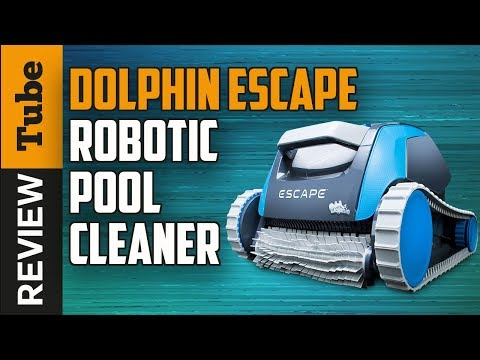 Maytronics Dolphin Escape - super review - why should you buy this robotic pool cleaner