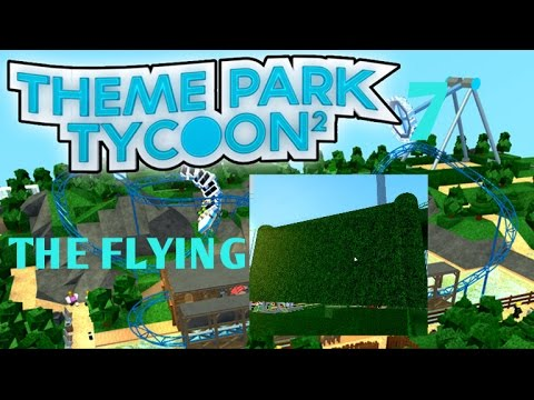 ROBLOX THEME PARK TYCOON #7 THE FLYING HEDGE!!??
