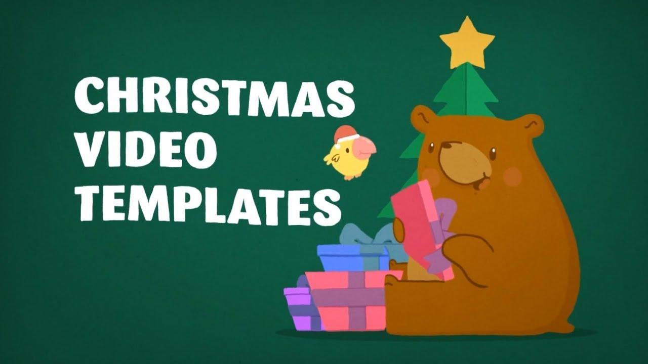Christmas Video Templates Editable