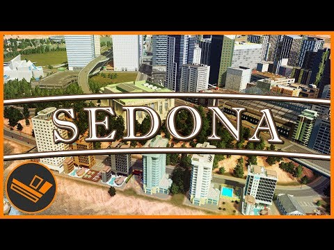 Sedona - Part 45 | DOWNTOWN LEISURE (Cities: Skylines)
