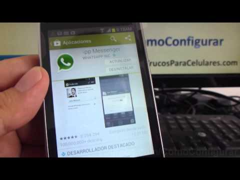 error en whatsapp error de sincronizacion en whatsapp samsung Galaxy Fame español comoconfigurar