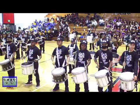 Beauty and Beast Drumline @ Oak Park 3rd Annual Dance Competition
