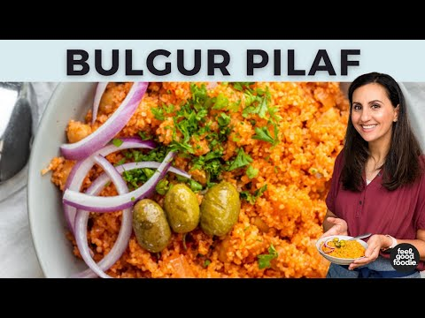 Bulgur Pilaf With Roasted The city Sprouts