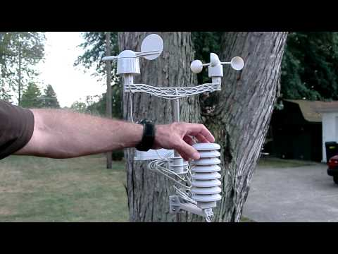 Wireless Weather Station Ambient Weather WS-2080 review in H