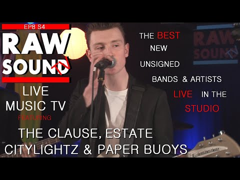 LIVE MUSIC TV Best Unsigned Bands And Artists Episode 8 Series 4 RawSoundTV