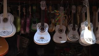 Rush for Disney Coco guitars overwhelms Mexican artisans
