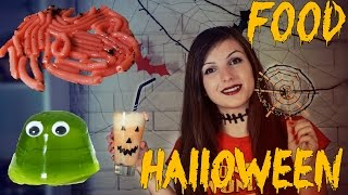 DIY Halloween Party / Десерты на Хэллоуин / Червяки / Желе Б.О.Б / Паутина / Фанта-Джек
