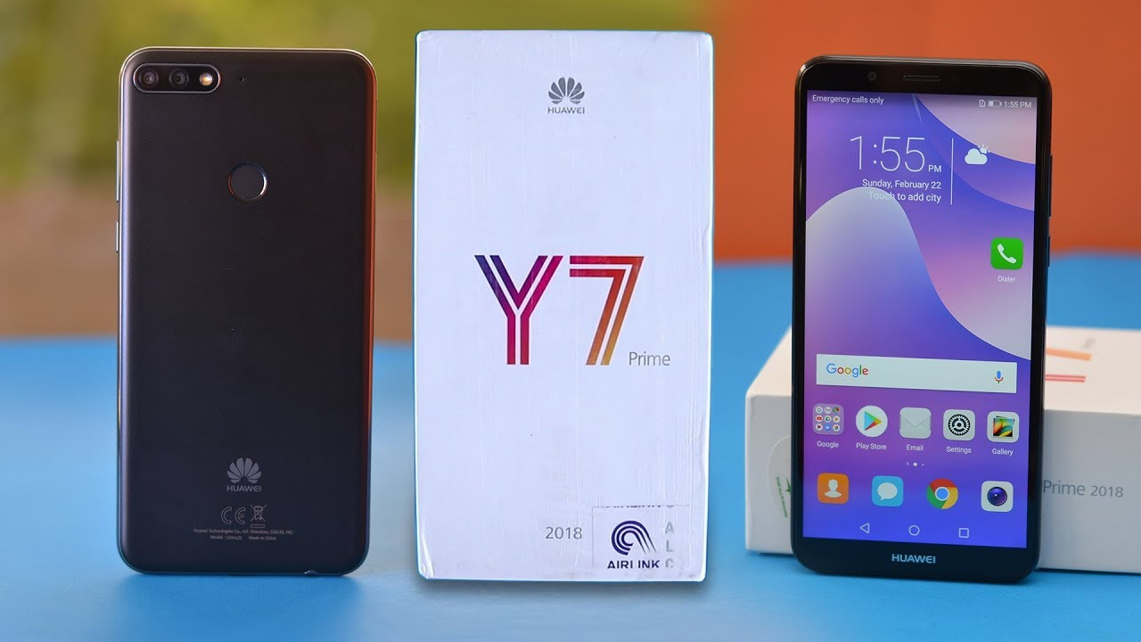 Huawei Y7 Prime 2018 Review with Camera Samples - YouTube