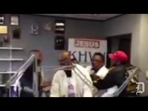 Dwaine Caraway, John Wiley Price fight at Dallas-area gospel station