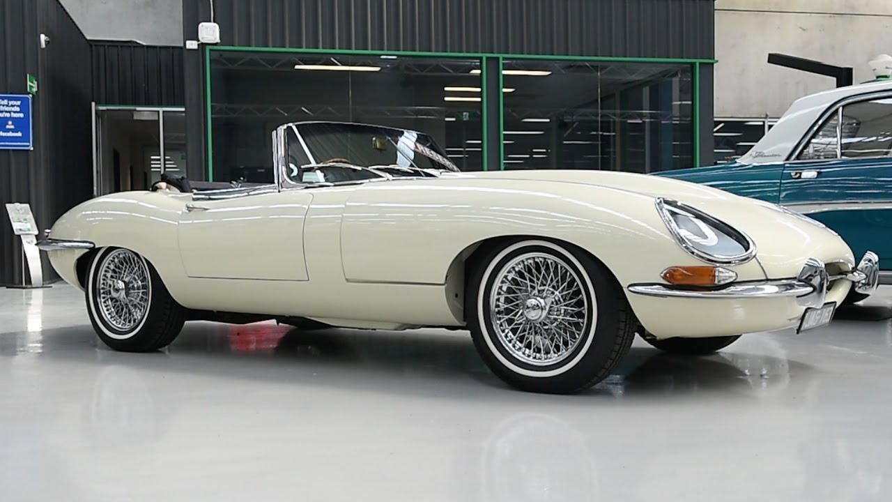 1963 Jaguar E-Type 3.8 Series I Roadster - 2017 Shannons Melbourne Autumn Classic Auction
