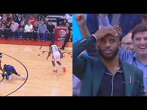 75d3998c519 James Harden Breaks Jamal Murray s Ankles Shocking Chris Paul   Entire  Rockets Crowd!