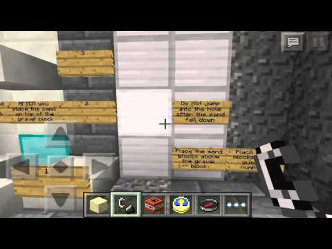 Minecraft PE - Guess the Number Minigame (redstone alt number generator)