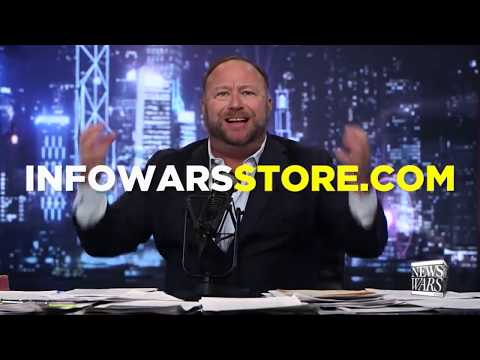Alex Jones Now Endorsing Flat Earth Investigation! InfoWars Antarctica Special thumbnail