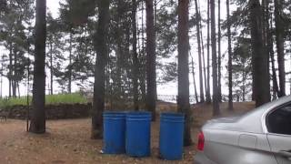 видео турбаза Чайка на озере Селигер