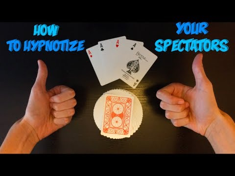 How To Hypnotize Your Spectators Amazing Card Trick