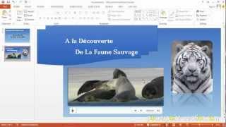 PowerPoint : Insertion Vidéo