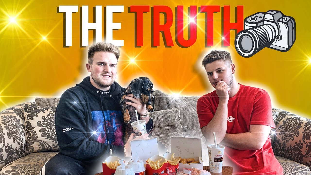 Are Me And Ben Phillips Really Brothers Mukbang - Youtube-6073