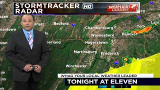 WHAG News @ 11:00 PM - NBC Primetime Teases - Berkeley County Tornado Touchdown - Monday 6/9/14