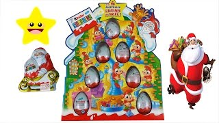 Kinder Surprise Eggs Christmas Edition Tree Santa Claus Elves Thumbnail
