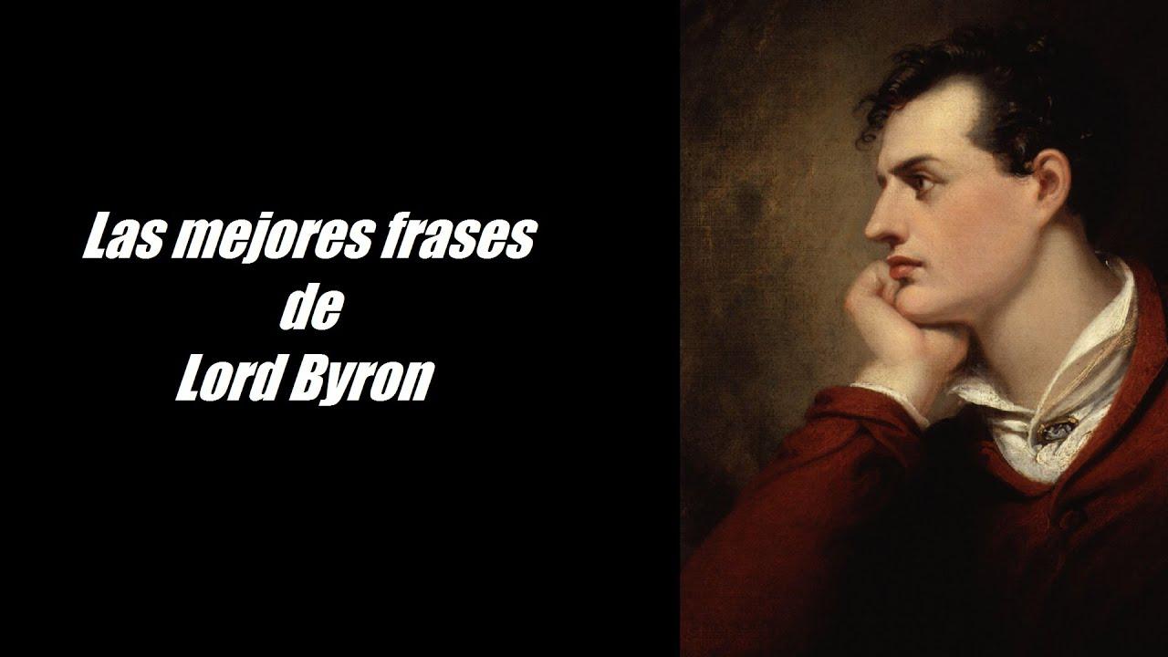 Frases Célebres De Lord Byron