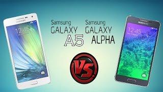 Samsung Galaxy A5 vs Samsung Galaxy Alpha   Comparativa en Español