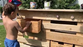DIY-Grill-Tisch bauen für die nächste Gartenparty