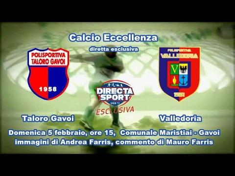 Calcio Eccellenza    Taloro Gavoi – Valledoria (1-2)