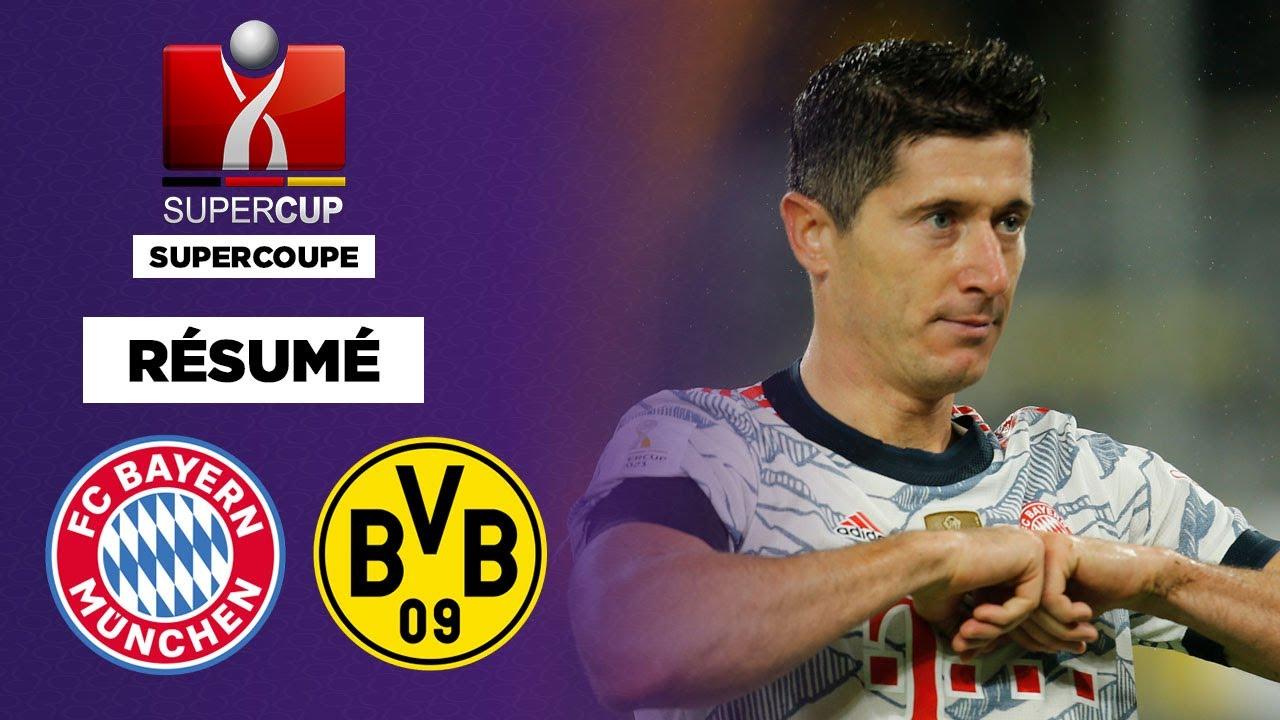 Download Résumé : Lewandowski XXL, le Bayern Munich remporte la Supercoupe !