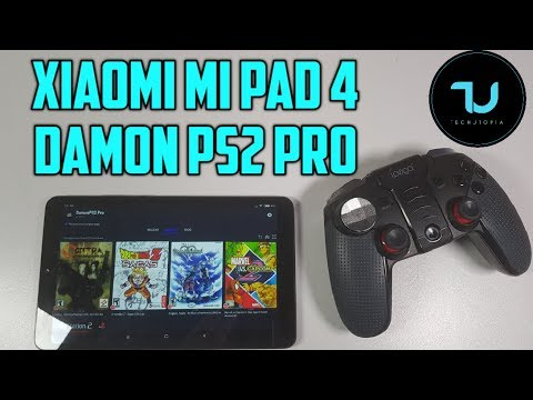 Xiaomi Mi Pad 4 DamonPS2 Pro Test/PS2 Games/Android Emulator/Snapdragon 660 Gaming Tablet