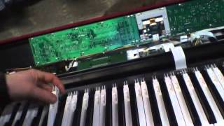 fix broken piano key on roland rd700sx part 2.wmv