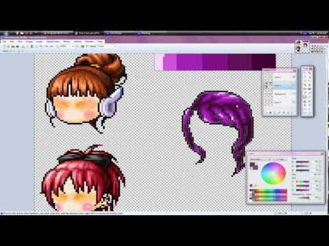 Maplestory Custom Hair: Side Curls