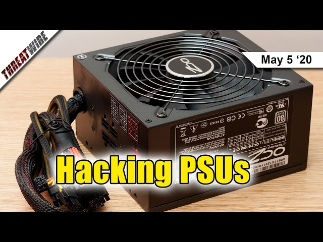 Stealing Data from Air-Gapped PCs using PSUs as Speakers - ThreatWire