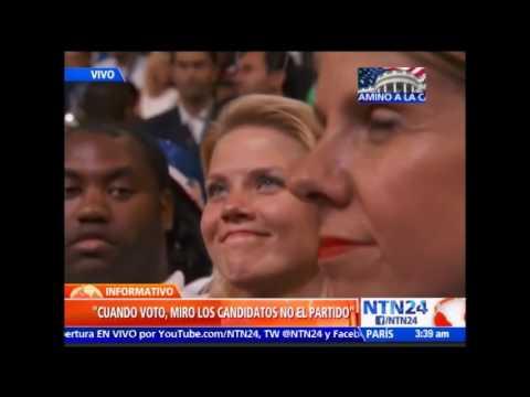 """""""Sé distinguir a un estafador cuando lo veo"""": Michael Bloomberg a Trump en Convención Demócrata"""